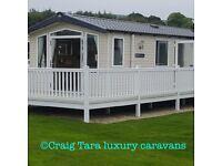 Caravan to rent at Craig Tara