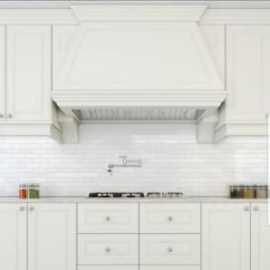 "Ancona PRO SERIES Insert Range Hood with LED Lights and Stainless Steel Baffle Filters. Available in 28"", 34"" or 48"""