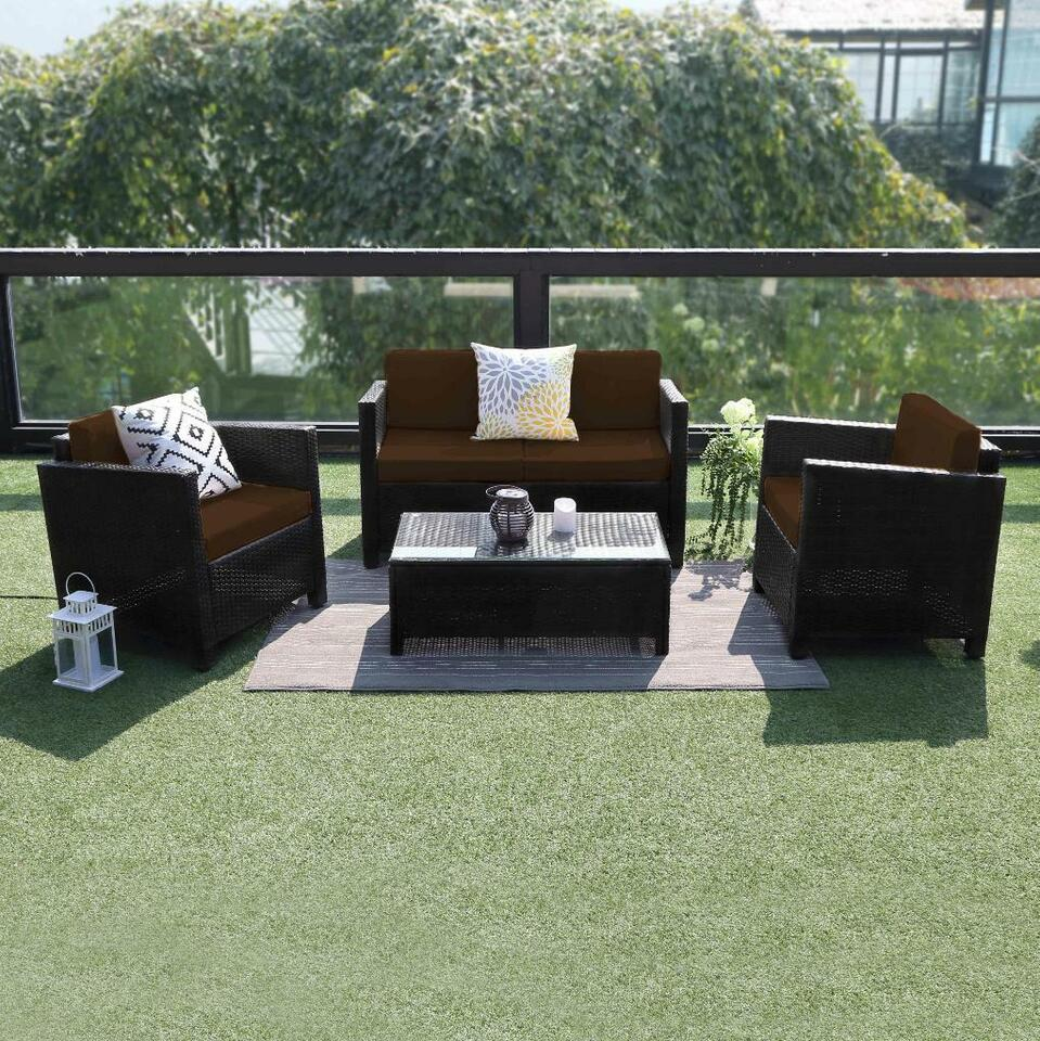 Description new 4 pcs outdoor furniture