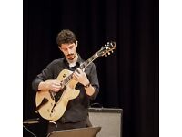 Guitar Lessons with Dimitris Tsiotas. All Levels, based in Leeds