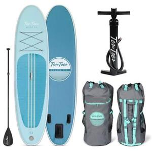 Brand New Ten Toes SUP Emporium Ten Toes Weekender Inflatable Stand Up Paddle Board Bundle Marine DI15
