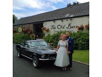 Classic Car Wedding Hire (Morris Minor & Ford Mustang)