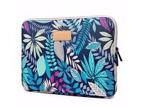 Brand new CoolBell 15.6 Inch Laptop Sleeve Case With Colorful Leaves Pattern