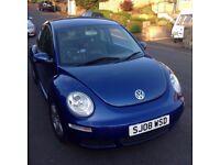 Metallic Blue 2008 Volkswagen Beetle 1.4 Luna 3dr