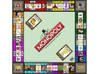PERSONALISED MONOPOLY GAME CUSTOM PRINTED FROM £50