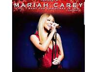 2x Mariah Carey All I Want For Christmas Show Tickets at Manchester Arena - Floor Block E Row K