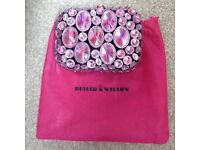 Jewelled Butler and Wilson Clutch bag