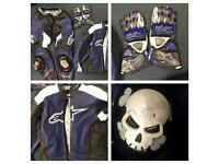 Alpinestars motorcycle leathers
