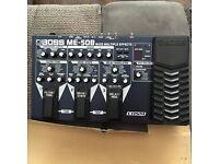 BASS GUITAR PEDAL: Boss ME-50B BASS Multi effects pedal