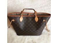 Louis Vuitton neverfull monogram handbag