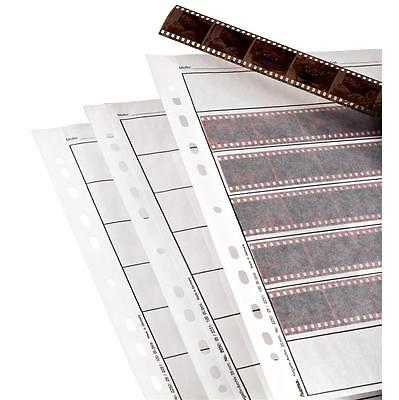 HAMA 35MM NEGATIVE STORAGE PAGES FOR RINGBINDER PACK OF 10 FILING SHEETS 2250