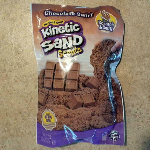 Chocolate Swirl Kinetic Sand Scents - NEW - Sealed - Made With Natural Sand