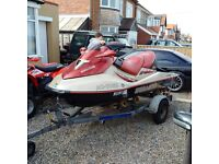 IMMACULATE 2002 SeaDoo Sea Doo GTX 4-TEC 155hp limited edition **80 hours from new**