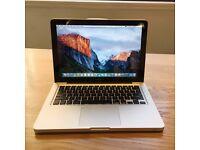 Macbook Pro (13 inch, Mid 2012) 8GB ram 500 GB storage 2.5 GHz Intel Core i5