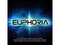 ENTIRE EUPHORIA CD COLLECTION ALL OF THEM AVAILABLE NOW ON USB PEN
