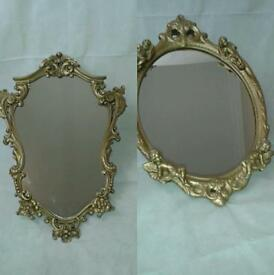 ornate mirrors shabby chic roccoco vintage
