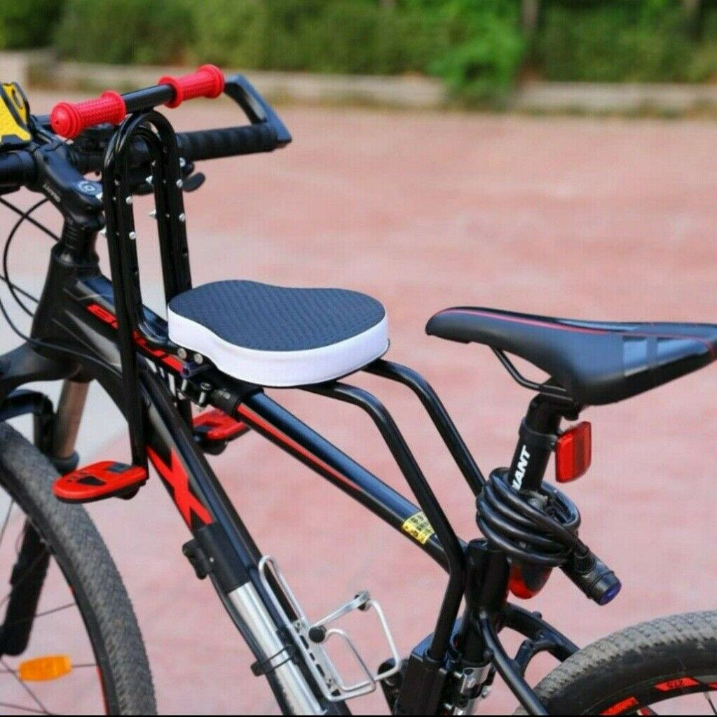 US Bicycle Children Baby Kid Seat Front Mount Safety Carrier Front Seat Handrail