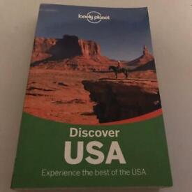 Discover USA Lonely Planet Book For Holidays to Discover USA - Was: £17.99