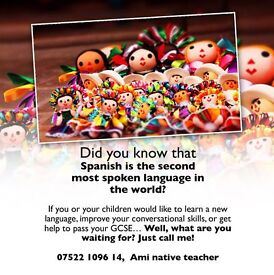 SPANISH LESSONS (The second most spoken language in the world)