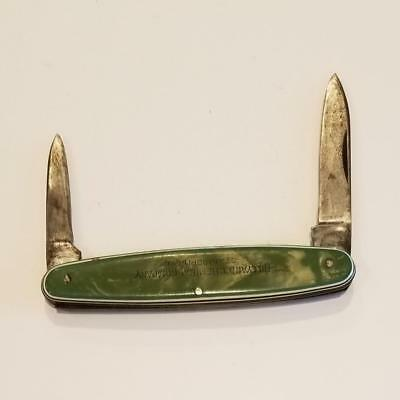 WESTERN STATES BOULDER CO. Pocket Knife HILLYARD CHEMICAL CO. St. Joseph MO