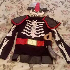 Various Halloween Costumes, three BRAND NEW Witch, Skeleton Pirate, Werewolf £5 each