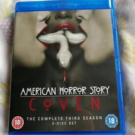 American Horror Story Coven Season 3 Blu Ray