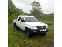 Mitsubishi L200 GL (4 work) Pick up Twin Cab. Diesel. 55 reg