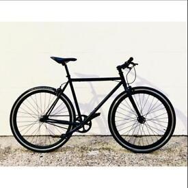 Full Matte Black Bike - City/Road Bike