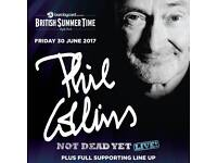 2 x Phil Collins Hyde Park Tickets 30th June