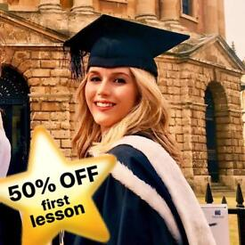£40/hour Oxford Grad Tutor – English & Psychology, 100% A+ Pass Rate