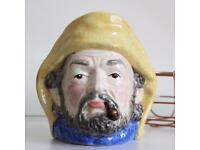 Staffordshire Crown Windsor Fisherman Character Toby Jug