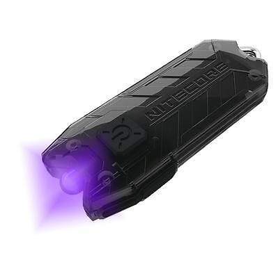 Nitecore Tube UV UltraViolet Blacklight Rechargeable USB Keychain Flashlight