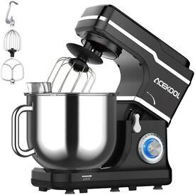 Stand Mixer 7L Tilt Head 1400W Food Mixer 10Speed Multi Functional Kitchen Mixer Beater Splash Guard