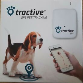 TRACTIVE GPS Pet Tracking New in box