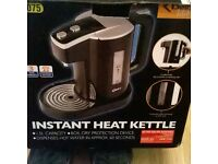 Delta kitchen instant heat kettle, 1.5L capacity, dispenses hot water in approx 60 seconds, £25.00