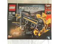 LEGO Technic Bucket Wheel Excavator, set 42055. Brand new in sealed box.