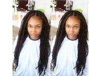 Fauxlocs/Nubian locs/Yarn locs/Goddess locs/Dreadlocs . Afro /European/Asian hair braids/mobile hair