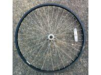 "Front Mountain Bike Wheel 26"" Kin Lin Rim"