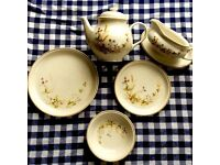 Harvest pattern M&S used china