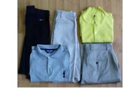 (£30) Nike/Adidas/Ralhp Lauren. Golf clothing Complete set + FootJoy AQL Shoes