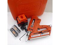 PASLODE IM350 FIRST FIX NAIL GUN- ORANGE PROBE, CASE+ACCESSORIES+12 MONTHS WARRANTY