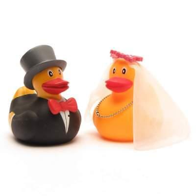 Rubber Duck Bath Duck Bride and Groom Rubber Ducky Rubber Duckie - Bride And Groom Rubber Ducks