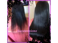 Nano Ring - Micro Ring - Tape ins - Clip in Hair Extensions Peterborough