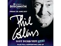 Phil Colins Hyde Park GOLDEN CIRCLE Friday June 30th