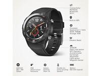Huawei Watch 2 4G Sport Smartwatch Black android sim card NEW Warranty