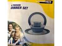4 Person Dinner Set