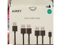 Micro USB Cable 5 pack. Brand new