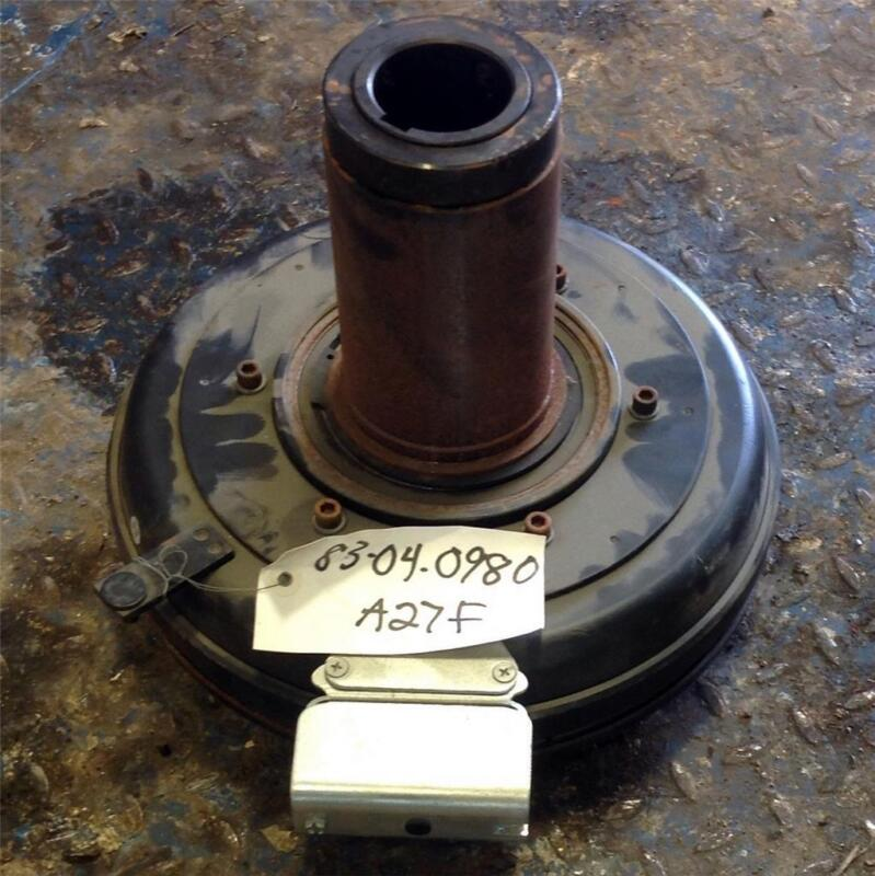WARNER ELECTRIC MODEL EC-1225 43W 2000RPM 90VDC CLUTCH 5284-271-005