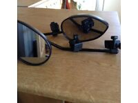Milenco towing mirrors in good condition
