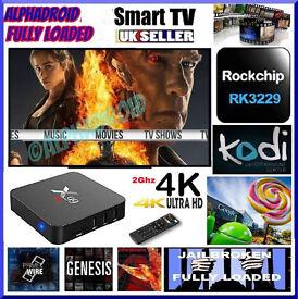 ANDROID TV BOX 4K HD✔️X99 4k ✔️FULLY LOADED✔️2Ghz✔️KODI✔️MOVIES LIVE TV✔️SPORTS✔️KIDS TV